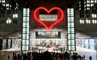 Havel's Heart at the European Parliament, from EP @ Flickr